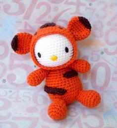 Amigurumi Pattern Zodiac Tiger Kitty Crochet par ZodiacGurumi