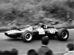 Jochen Rindt driving the Cooper Climax in 1965