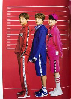 V ( Taehyung ) & Jimin & Suga