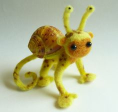 Spotted Snonkey by FamiliarOddlings on Etsy