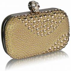 LSE0039 - Gold – Elliott Chambers Dublin 14 Clutch Bags, Dublin, Coin Purse, Purses, Wallet, Gold, Shoes, Fashion, Handbags