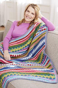 Ravelry: Axbridge afghan pattern by Teresa Chorzepa---great scrap blanket