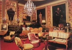 HET LOO PALACE,  (NETHERLANDS).  One of the rooms.