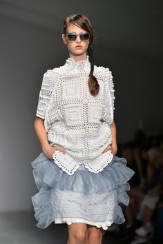 Bora Aksu: Runway - London Fashion Week SS15