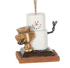 2017 S'mores Winner Trophy Ornament