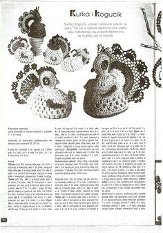 Kurki Easter Crochet Patterns, Crochet Birds, Crochet Doilies, Knit Crochet, Crochet Hats, Easter Baskets, Easter Eggs, Tatting, Crochet Earrings