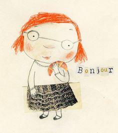 Manon Gauthier : Portfolio : Illustration jeunesse/for children : Carlotta