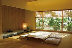 Modern Japanese Interior, Japanese Modern, Japanese House, Modern Interior, Interior Architecture, Japanese Minimalism, Minimalist Apartment, Minimalist Living, Sala Tatami