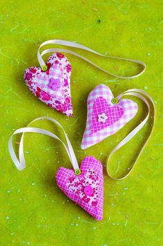 Sew In Love | Hanging Heart Sewing Project