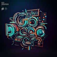 Typography is the best way to show your designing skills in the Graphic Design field. Typography or typeface design its an amazing artwork and creative Creative Typography, Typography Letters, Typography Poster, Graphic Design Typography, Lettering, Logo Creator, Inspiration Typographie, 3d Cinema, Design Poster