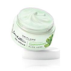 Crema Hidratante en Gel con Aloe Vera Love Nature #oriflame Crema ligera con textura en gel y extracto de Aloe Vera que proporciona un plus de hidratación y restaura el equilibrio de la piel dejándola suave y radiante.