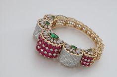 Diamond gajra  Hazoorilal Jewellers, South Extension | Vogue Wedding Show 2014