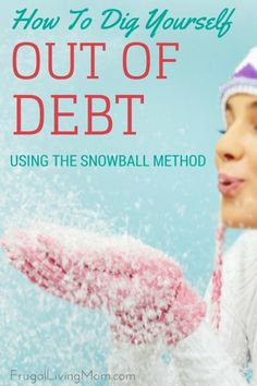 Debt is a beast that can take over your life if you don't get it under control. There are many ways to pay off debt. If you've never looked into the snowball method. made popular by Dave Ramsey , you may want to use this technique to pay off debt and minimize the amount of interest you pay every month.