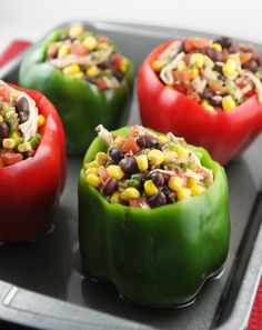 Mexican Stuffed Peppers — Pip and Ebby