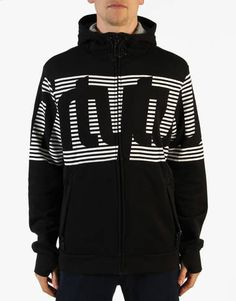 Thirty Two Stamped Zip Hoodie - Black - RouteOne.co.uk - that should be mine!