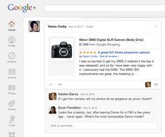 Google Plus se renforce en se liant à Google Shopping