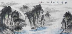 Nature Art collectible Chinese painting for sale Landscape Painting - US $273.00