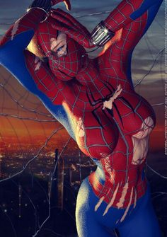 Spider Girl- gorgeous!