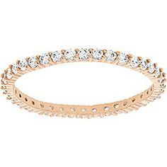 dffce56a3 Vittore Ring Now available in rose gold-plated metal, this popular ring  offers a. Swarovski