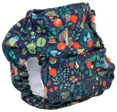 Smart Bottoms Dream Diaper in Enchanted.  No Prep!