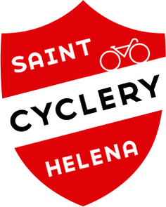 Final logo for a redesign of Saint Helena Cyclery