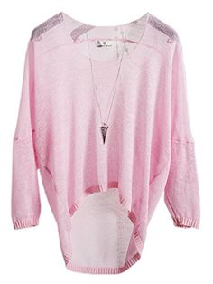Smile YKK Flax Thin Smock Top Long Sleeve Transparent Knnitting Blouse Pink   Special Offer: $19.82      100 Reviews Material: Flax Asia Free Size: Length:53cm Bust:86-106cm Sleeve:60cm The size is according to Asia Women's Size,So Size small,when you choose your size,you had better...