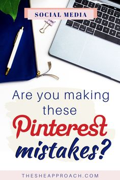 Promoting my Blog with Pinterest was one of the best decisions I have ever made. But there are some mistakes you may be doing that are slowing down your Pinterest growth and causing your Pins to not get any or enough Clicks! In this Post, I share what those mistakes are - and How to Stop Doing them, so you can Grow your Pinterest Business Account and Get More Traffic, Pageviews and Sales to your Blog or Website! Check it out and Grow on Pinterest today! #pinteresttips #pinterestforbloggers Pinterest Advertising, Pinterest Marketing, Advertising Ideas, Online Marketing, Social Media Marketing, Digital Marketing, Marketing Strategies, Pinterest For Business, Blogging For Beginners