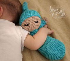 Free Amigurumi And Crochet Patterns: Free Pattern: Crochet Sleepy Baby Doll
