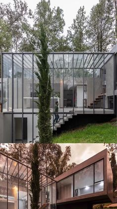 Floating Architecture, Sustainable Architecture, Amazing Architecture, Interior Architecture, House Cladding, Cuenca Ecuador, Divider Design, Glass House, Modern House Design