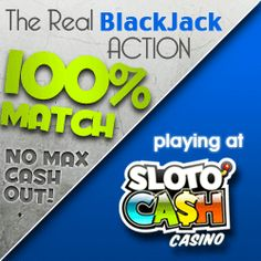 Get a $7770 welcome bonus over your first 7 deposits at Sloto' Cash!