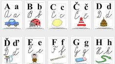 speciál: Velká abeceda Christmas Frames, Preschool Worksheets, Montessori, Art For Kids, Alphabet, Iphone Cases, Language, Classroom, Education