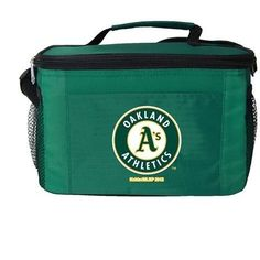 MLB 2014 6 Pack Cooler Lunch Tote (Oakland Athletics)