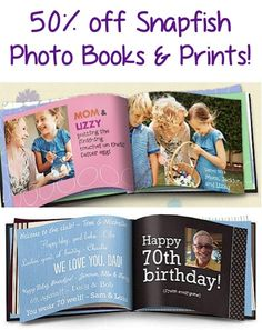 Photo Book Coupon Code.......I'm starting to do these! Got 2yrs to catch up on.