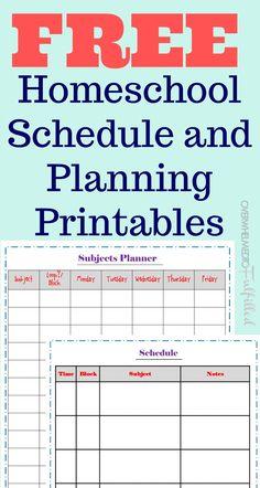 Homeschool Schedule - Kindergarten - overwhelmedtofulfilled