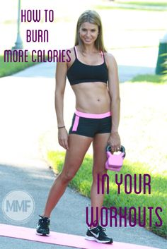 Crazy, that you can burn that much more calories with workouts like this.