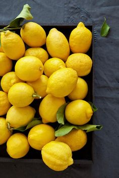 In Season - March, lemons.