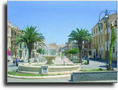 This is Barrafranca, Sicily which is home to my cousins.
