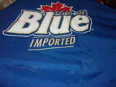 Table Top Umbrella Large Blue (Labatt Blue Imported) Pick up only Easton PA