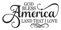 """Patriotic American 4th of July STENCIL **God Bless America** Large 12""""x24"""" for Painting Signs, Fabric, Airbrush, Crafts, Wall Art"""