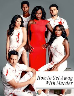 """natashasromanoff: """" The Cast of How To Get Away With Murder for Entertainment Weekly """""""