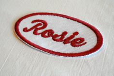 Child Size Rosie the Riveter Patch Perfect for Halloween Cosplay Retro and Fun-Any Name Available Halloween Cosplay, Halloween Costumes, Halloween 2018, Halloween Treats, Halloween Party, Rosie The Riviter, Rosie The Riveter Costume, Old Sewing Machines, Name Patches