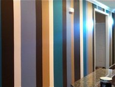 graduated stripes PAINTED ON WALL - Google Search