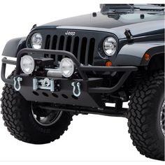 Smittybilt SRC front bumper replacement to match my rear bumper.