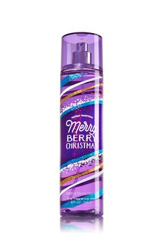 Merry Berry Christmas Fine Fragrance Mist - Signature Collection - Bath & Body Works
