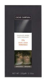C Sampaka 100g. Ciocolata neagra 77% cacao Venezuela Ron, Cocoa, Venezuela, Theobroma Cacao, Hot Chocolate