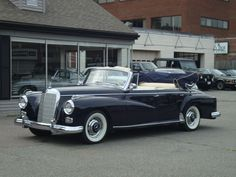 1960, Mercedes Benz 300d convertible