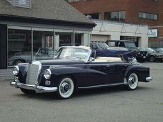 1960 Mercedes-Benz 300D Cabriolet #mbhess #mbclassic