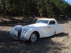 1937 Talbot-Lago T150C Figoni et Falaschi Cabriolet