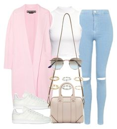 """""""Sin título #12407"""" by vany-alvarado ❤ liked on Polyvore featuring Rochas, Topshop, H&M, adidas Originals, Ray-Ban, River Island and Givenchy"""