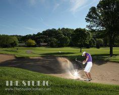 ©The Studio • La Crosse, WI www.TheStudioOnMain.com  Boy • Senior • Pictures • Portraits  Golf • Course •